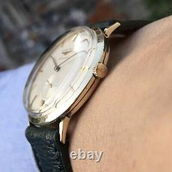 Vintage Longines Cal 19a Automatic Watch 10k Gold Filled Very Rare