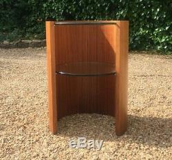 Vintage MID Century Art Deco Style Cylindrical Occasional Table