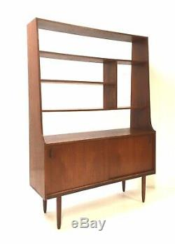 Vintage Mid Century Danish Room Divider 1960s Teak Sideboard Cabinet