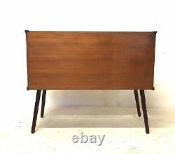 Vintage Retro Mid Century Danish 1960s Teak LP Vinyl Media Sideboard Cabinet