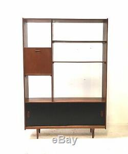 Vintage Retro Mid Century Danish Room Divider 1960s Teak Sideboard Cabinet