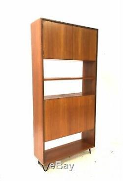 Vintage Retro Mid Century G PLAN Fresco 1960s Teak Bookcase Sideboard Wall Unit