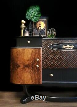 Vintage art deco style Beautility cocktail cabinet, drinks cabinet, sideboard
