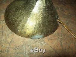 Vtg MID CENTURY L & L WMC NUDE WINGED LADY FIGURE ART DECO STYLE TABLE LAMP HTF