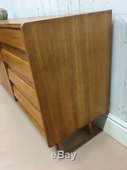 Vtg Mid Century Jiri Jiroutek Sideboard Drawers G Plan Mcintosh Danish Day Heals