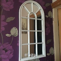 WINDOW STYLE MIRROR GILRS ROOM ENCHANTED MIRROR HALLWAY WINDOW ARCH MIRROR 69cm