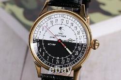 Wrist watch Raketa 24 Hours Sputnik, Soviet watch, Rare watch, Russian watch