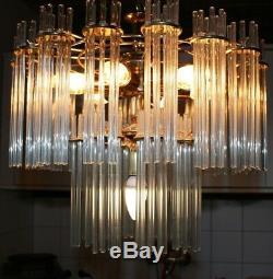 XL 192 Rods 2 Layers Chandelier Kronleuchter Deckenlampe Sciolari Art Deco Style