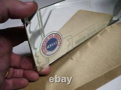 1950 Antique Auto Nos Standard Station Pétrolière Miroir Visor Vintage Chevy Ford Gas