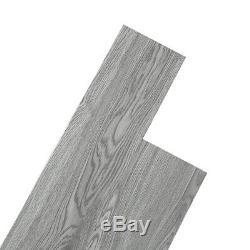 36pcs Sol Carrelage Vinyle Pvc Revêtement De Sol Auto-adhésif Planks Carreaux Gris Clair