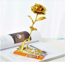 3d Rose Brillante Idéal Actuelle Ornement Saint Valentin Anniversaire Les Mères De Décoration Intérieure Cadeau