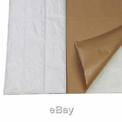 5/10 / 30x Pe Autocollant De Mur De Brique 3d Autocollant De Papier Peint De Bricolage Auto-adhésif De Panneaux