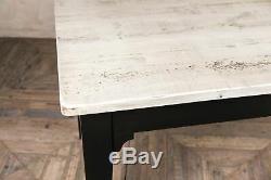 8ft Pays Ferme Kitchen Table Régénérés Pine Painted Burford Base