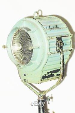 Ancien Projecteur De Cinéma Hollywoodien Des Années 1930, Ancien Lampadaire De Cinéma