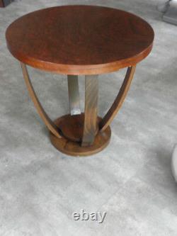 Antique Old Coffee Table Bois Art Déco Vintage Canapé En Bois Century Victorian