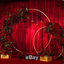 Arc De Mariage Décor Décoration Lieu Métal Archway Cercle Toile De Fond Archway Arc