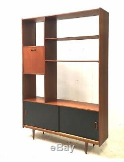 Armoire De Buffet Vintage En Teck Vintage Des Années 1960, Danemark