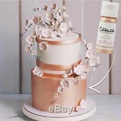 Art Comestible Décoratif 100% Peinture Comestible En Or Rose 15ml Sticks Doux