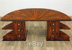 Art Déco Interieur, Schreibtisch + Seitliche Ablagen 180cm 20´style Shelf-desk