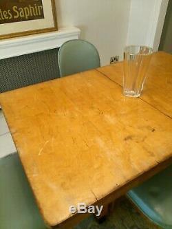 Art Déco Table À Manger + Nuage Chaises De Style, Bauhaus / 'junior Epstein' / Heals