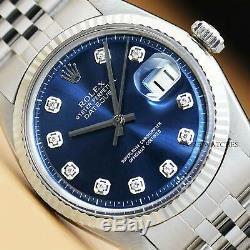 Authentique Rolex Datejust De Rolex Lunette Montre En Or Blanc Et Rolex Band