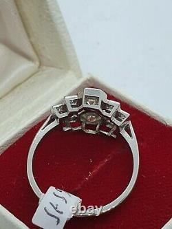 Bague Diamant De Style Platine Art Déco
