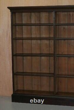 Belle Victoria 1880 Acajou - Bibliothèque De Chêne Bibliothèque Bibliothèque 169cm Grand 235cm Large