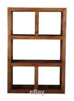 Bibliothèque Ouverte En Bois De Manguier De Dakota Furniture (08n)
