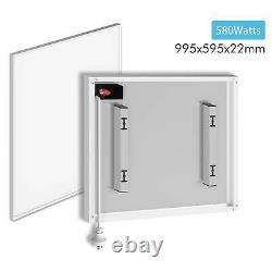 Blanc Ultra Slim Infrared Heating Panel Electric Heater Radiator Wall Mount 580w