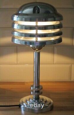 Bureau/lampe De Table Vintage Art Déco De Style Industriel Nautique