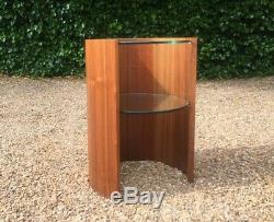 Century Vintage MID Style Art Déco Cylindrique Occasional Table