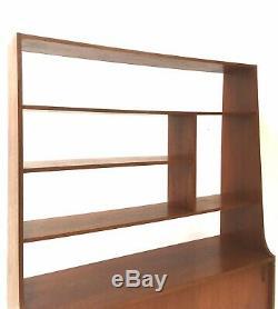 Century Vintage Milieu Des Années 1960 Danoise Paravent Teck Cabinet Enfilade