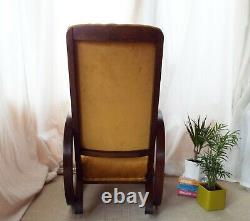 Chaise Rocking Vintage Des Années 1930 Par Heals Of London