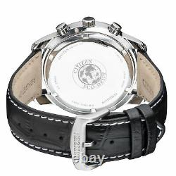 Citizen Perpetual Calender Eco-drive Movement Silver Dial Men's Watch Bl5470-14a