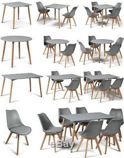Ensembles À Dîner Style Toulouse Eiffel Gris Tables Et Chaises De Design Art Déco