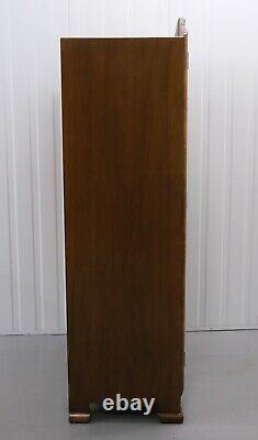 Fabuleux Tableau Burr Wallnut Art Déco Chambre Suite Armoire