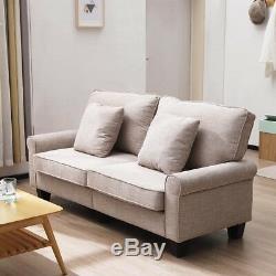 Fauteuil Saver Seat Canapé 2 Places Pour Canapé 3 Places En Tissu Avec Étui Délavé