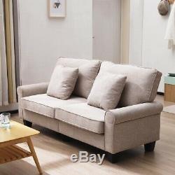 Fauteuil Saver Seat Canapé 2 Places Pour Canapé-lit En Tissu Pour 3 Personnes Avec Étui Lavé
