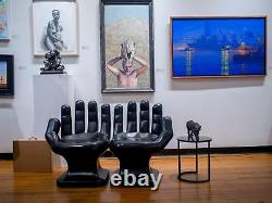 Giant White Main Droite Chair Partaged 32 Grand Adulte 70's Retro Eames Icarly Nouveau