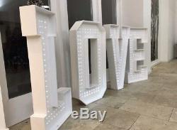 Grand 4ft Mariage Love Letters Pour La Vente