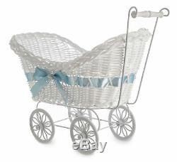 Grand Bébé Landau Panier Panier En Osier Baby Shower Party Cadeaux Garçons Filles New Born