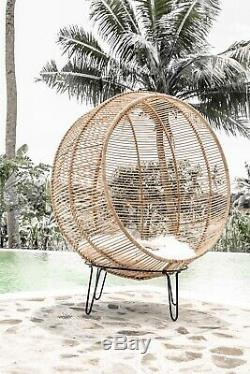 Hanging Et Rotin Chaise Debout Boule Swing
