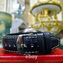 Homme Vintage Rolex Oyster Perpetual Date Juste 36mm Argent Diamant Montre