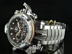 Invicta 50 MM Subaqua Poseidon Bolt Chronographe Triton Garde Ss Bracelet Montre