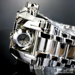 Invicta Reserve Magnum Météorite Diamond 2 Swiss Mvt Cadrans En Acier 52 MM Nouvelle Montre