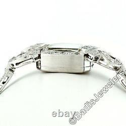 Ladies' Antique Art Déco Platinum 2.24ctw Diamond 17j Swiss Movement Wrist Watch