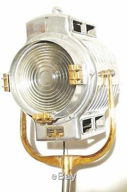 Lampe Art Deco De Mole Richardson 210 Vintage Studio Film Hollywood Des Années 1930