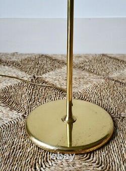 Lampe De Lecture En Laiton Vintage Standard Sofa Sofa Chair Lampe De Table Avec Ombre