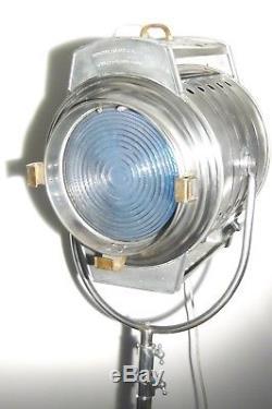 Lampe De Plancher Antique Antique Industrielle Lampe De Plancher Film Vintage Des Années 1950