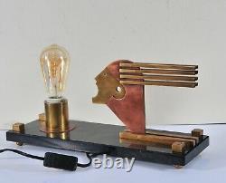Lampe De Table De Style Bauhaus, Oskar Schlemmer, Design Art Déco